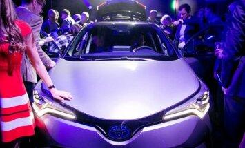 Sostinėje pristatyta Toyota C-HR