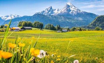 Žydrojo dangaus kraštas Bavarija - viena gražiausių planetos vietų