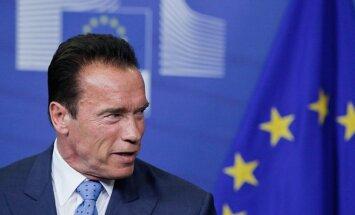 Arnoldas Schwarzeneggeris lankėsi Briuselyje