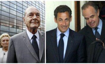 J. Chiracas, N. Sarkozy, F. Mitterrandas