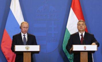 Viktoras Orbanas ir Vladimiras Putinas