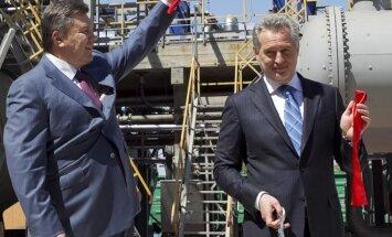Viktoras Janukovyčius ir Dmitrijus Firtašas