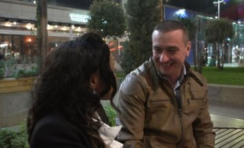 Tomas Bagdonavičius su drauge