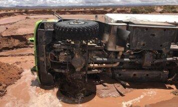 Audros Bolivijoje padariniai