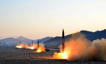 North Korean rockets