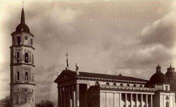 Józef Czechowicz. Vilniaus katedra ir varpinė 1870–1880. VUB
