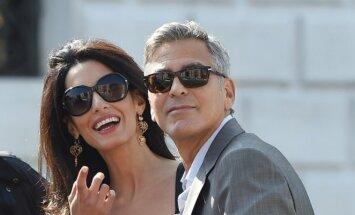 George'o Clooney ir Amal Alamuddin