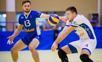 Baltijos vyrų tinklinio čempionato akimirka