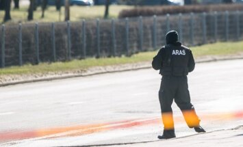 Officer from the police anti-terrorist operations unit ARAS