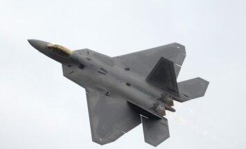 JAV sukurtas naikintuvas F-22 Raptor