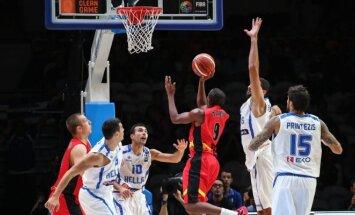 Europos krepšinio čempionatas 2015. Graikija - Belgija
