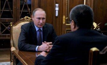 V. Putinas, A. Uliukajevas