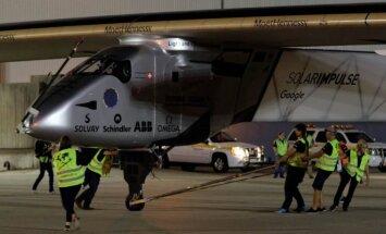 Solar Impulse 2 rengiasi palikti JFK