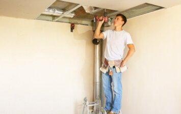 Gipso kartono lubų privalumai ir trūkumai