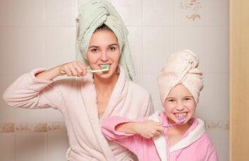 Suomiškos dantų pastos mažyliams. Laimėtojos