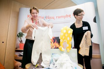 Ko Suomijos gimdyvėms gali pavydėti lietuvės