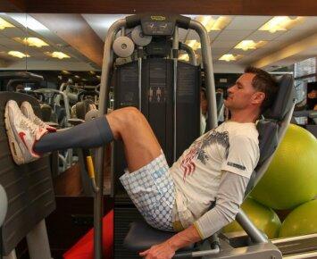 """Žilvinas Grigaitis: su """"pieniškomis kojinėmis"""" - ir į sporto klubą, ir į vakarėlius"""