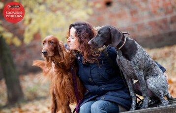 Šunų augintoja Kristina: gyvūnų gerovė priklauso nuo mūsų