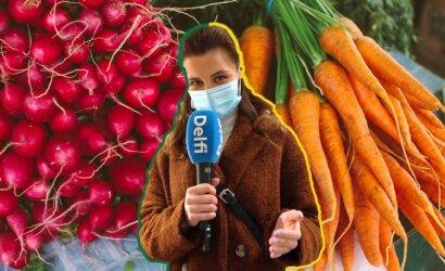Kiek šiemet kainuoja švieži agurkai, pomidorai ir ridikėliai: pirkėjai pasakė, ką galvoja apie kainas
