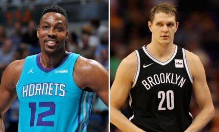 """Karjeros saulėlydis: """"Hornets"""" išmainė Howardą į Bruklino """"Nets"""" už nepatenkintą Mozgovą"""
