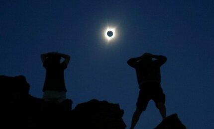 Visiškas Saulės užtemimas JAV 2017 rugpjūčio 21