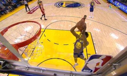 Antradienio NBA rungtynių gražiausių epizodų penketukas