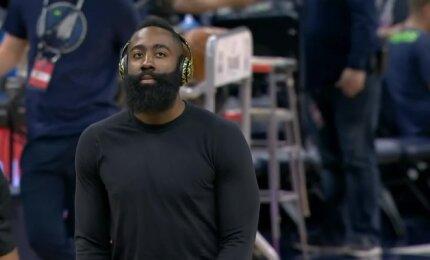 """Milžinišką deficitą panaikinę """"Timberwolves"""" neatsilaikė prieš """"Rockets"""""""