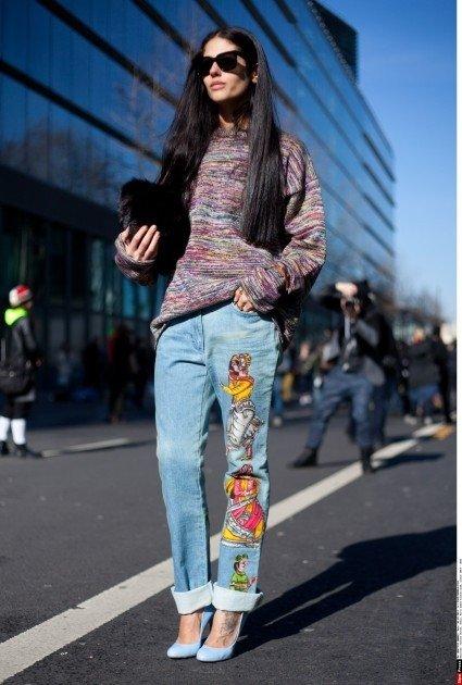 Stilius iš gatvės: džinsų mados tendencijos