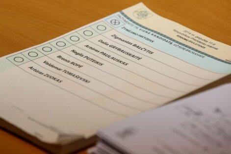 Prezidento rinkimai iš arti: kaip balsuojama namuose