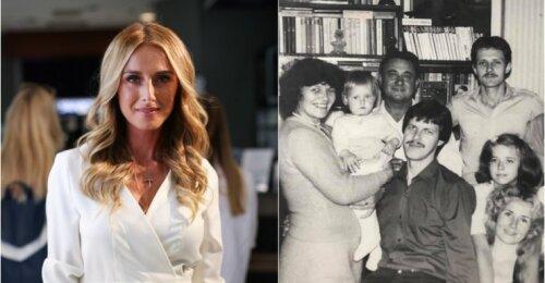 Violetos Repčenkaitės šeimoje – skaudi netektis: liūdnas mamos balsas pranašavo niūrią žinią