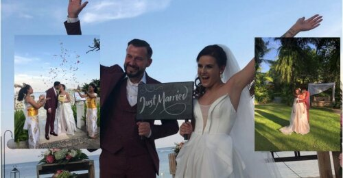 Iškart po skyrybų Sigitas Martinavičius Balyje vedė savo mylimąją: naujas gyvenimo etapas ir dviguba šventė paplūdimyje