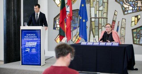 Į naujos kadencijos europarlamentą išrinkti lietuviai išsiskirstys į 5 frakcijas