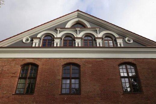 Dvaro rūmų fasado dalis, V. Kandroto nuotr.