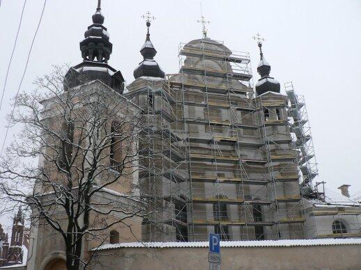 2007 m. vykdyti bažnyčios fasado rekonstrukcijos darbai