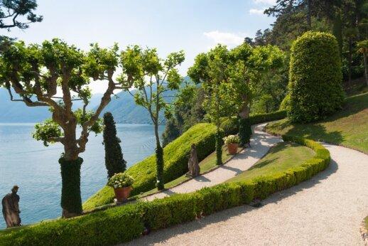 Kelionė po Šiaurės Italiją: Komo ežeras ir Dervio