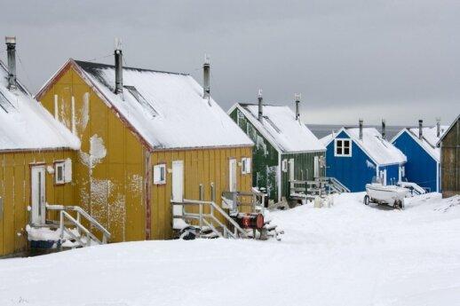 Mediniai namukai Grenlandijoje