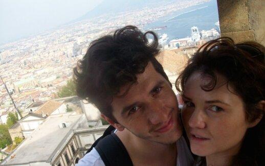 Ričardas Šumila su žmona Radvile Šumile