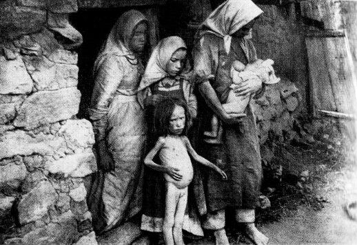 Badaujanti valstiečių šeima