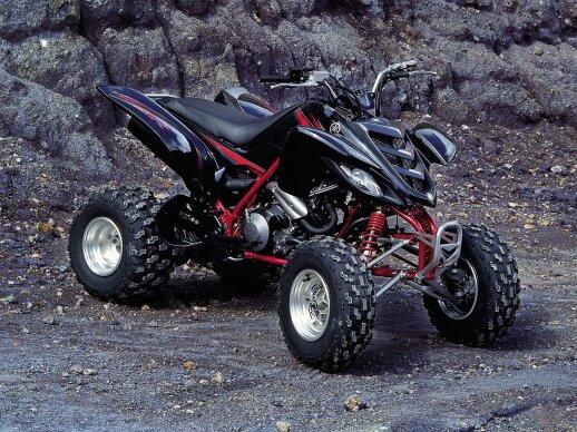 """Yamaha Raptor 660"" keturratis motociklas"