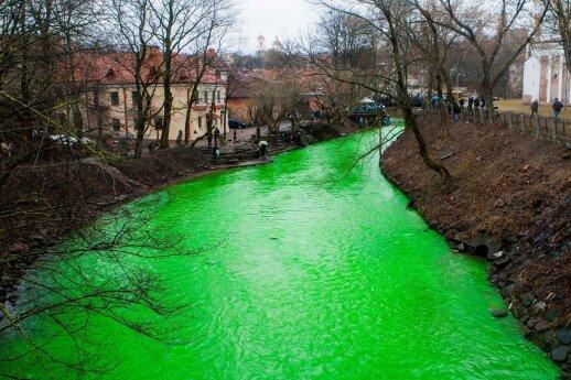 St Patrick's Day in Vilnius