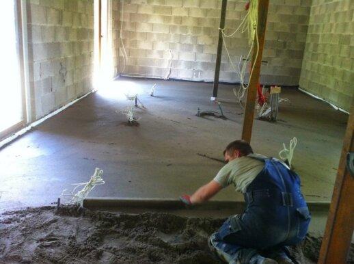 Grindų betonavimas: ko nevalia praleisti pro akis, jei norite sutaupyti