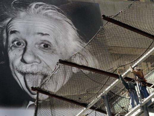 Alberto Einsteino nuotrauka