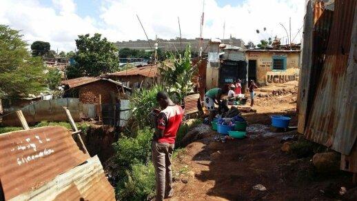 Akimirkos Kenijoje
