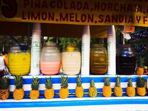 Aquas frescas - gaivieji gėrimai
