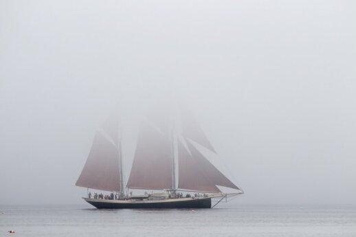 Burlaivis Penobscoto įlankoje