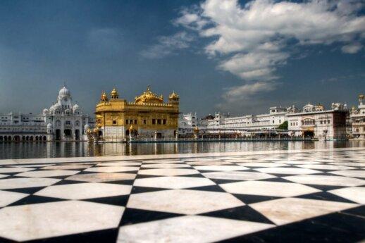 Sri Harmandir Sahib, Amritsaras, Indija