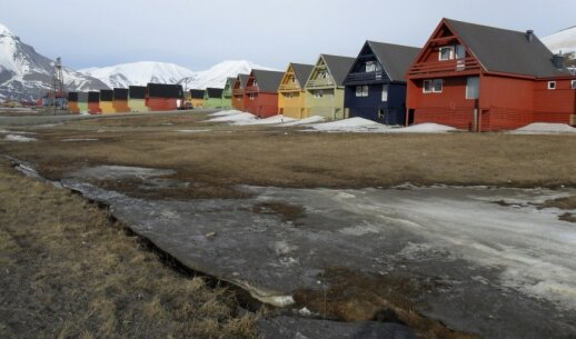 Longyearbyenas Svalbarde