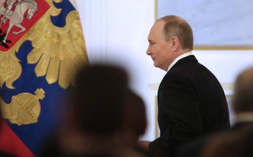 V. Putino metinis pranešimas