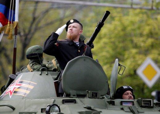 Ukrainos separatistai atsisveikina su liūdnai pagarsėjusiu Motorola