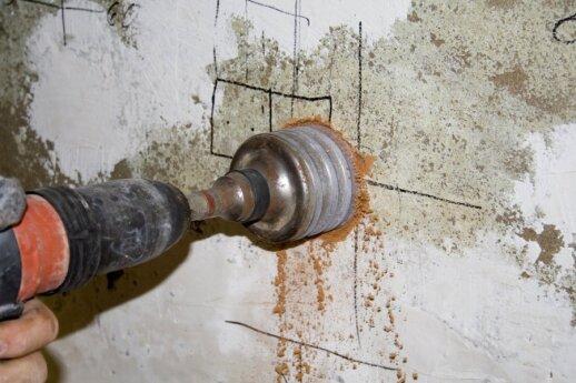 Grąžtai betonui ir betono gręžimas